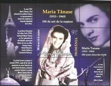 Mint S/S Maria Tanase Singer and actress 2013 from Romania  avdpz