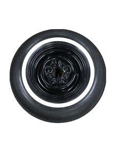 """Original 65 66 67 68 Chevy Impala 14"""" Spare Wheel & NON DOT Firestone Tire"""