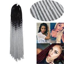 "US 1PC 24"" Havana Mambo Twist Crochet Braid Braiding Hair Ombre Afro Box Braids"