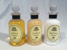 Lot of 3 Mandarin Oriental Bangkok Hotel Memorabilia Shampoo, Conditioner Lotion