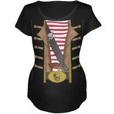 Pirate Costume Black Maternity Soft T-Shirt