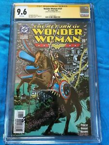 Wonder Woman #137 - DC - CGC SS 9.6 - Signed by Phil Jimenez
