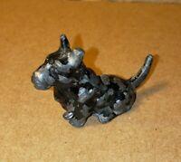 Vintage Hershey Derby Conn Black Terrier Dog Pen Holder Desk Accessory