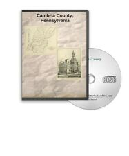 Cambria County Pennsylvania PA History Culture Genealogy 6 Books - D371