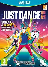 Nintendo Wii U Neuf Scellé Jeu Just Dance 2018