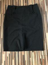 Womens Black Knee Length Skirt - Size 14