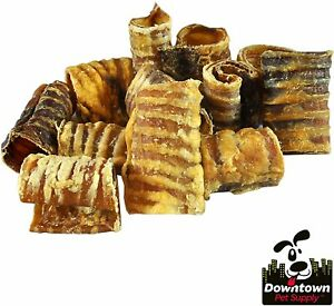 Premium Beef Trachea Dog Chews, Great Source of Glucosamine, 100% Natural Long