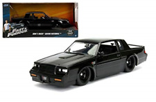 Jada 99539 Fast and Furious Buick Grand National, 1:24 Scale, Glossy Black
