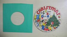 Pictur-tone Cardboard Picture Record CHRISTMAS COMES BUT ONCE A YEAR 78RPM 50s