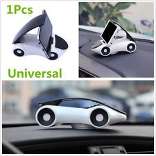 Fashionable PVC White Car Interior furnishing Cellphone Holder Mount 360° Rotate