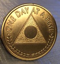 Lot of 10 Al-Anon Bronze Recovery Medallion Coin Bronze Plain Center Alanon