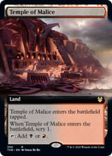 1x Temple of Malice - Foil - Extended Art MTG Theros Beyond Death NM Magic Foil