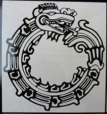 Dragon Talismán stickers/car/van / bumper/window/decal código 5409 Negro