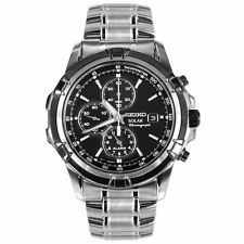 Seiko Stainless Steel Case Quartz (Solar Powered) Watches