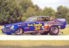 """Jungle Jim"" Liberman 1974 Chevy Vega NITRO Funny Car Vintage P/C HANDOUT!"