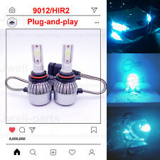 2020 NEW 9012 HIR2 LED Headlights Bulbs Professional Kit 40W 3500LM 8000K Blue