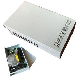 Rain-proof Outdoor DC 12V 30A 360W Transformer Switch Power Supply AC To DC