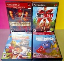 Disney Over the Hedge Nemo Ant Bully Pirates PS2 Playstation 2 COMPLETE Game Lot