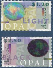 Australia  1995  Opals set  SG 1518 - 1519  good used