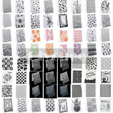 Christmas Silicone Rubber Stamps Seal Embossing Folder Scrapbooking Craft Xmas