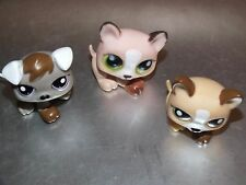 lot lps Littlest Pet Shop LPS petshop petit chien lot de 3