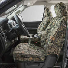 Covercraft Custom SeatSavers Carhartt Duckweave Front & 2nd Row - Mossy Oak Camo