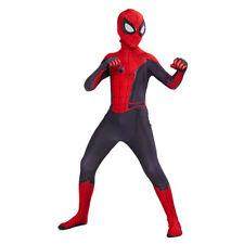 Hombre Araña lejos de casa Spiderman Zentai Traje de Disfraz cosplay de Niños Chicos Niño