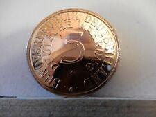 Kupfer-Medaille - Deutsche Währung- 40. Jahrestag des Silberfünfers 1951-1991