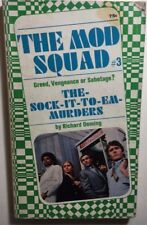 THE MOD SQUAD #3 Sock-It-To-Em-Murders by Richard Deming (1968) Pyramid pb 1st