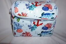 Vera Bradley Stay Cooler ANCHORS AWEIGH Insulated Lunch BAG  Tote NWT