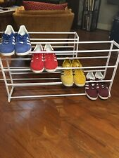16-Pair Shoe Rack x2 - Durable