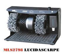Lucida Pulisci Scarpe elettrico lucidascarpe Hotel Albergo Spazzola DCG MLS 2798