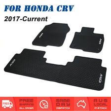 New Rubber Car Tailored Floor Mats Front & Rear For Honda CRV 2017 to Current