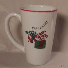 "Fitz and Floyd Essentials Merry Christmas Mug Presents 5.25"""