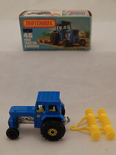 MATCHBOX 46 FORD TRACTOR E HARROW TRATTORE NEW IN BOX  1:64