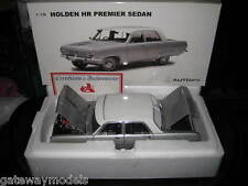 BIANTE / AUTOART 1.18 HOLDEN HR PREMIER SEDAN SATIN SILVER AWESOME MODEL