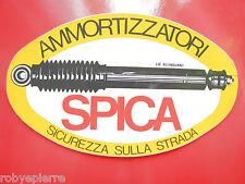 Adesivo sticker vintage AMMORTIZZATORI SPICA sicurezza sulla strada grande 20 cm