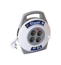 Tamburo per cavi 4 x4 x 10m H05VV-F 3G1 Cavo di prolunga Protezione contatto