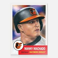 2018 Topps Living Set #37 Manny Machado ~ Presale Item