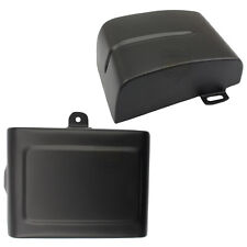 Matte Black Battery Side Fairing Cover L & R For Harley Dyna Wide Glide 06-17