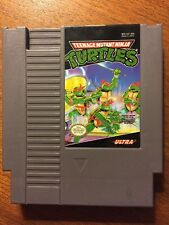 Nintendo NES Teenage Mutant Ninja Turtles TMNT! Tested!!  Awesome Retro Action!!
