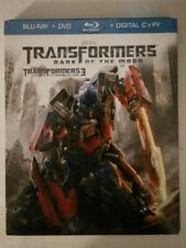 Transformers: Dark of the Moon (Blu-ray Disc, En/Fr/Sp) w/slipcover