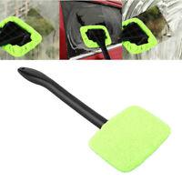 Microfiber Windshield Clean Car Auto Wiper Cleaner Glass Window Tool Brush Wax