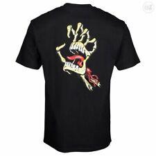 Santa Cruz Vintage Bone Hand T shirt Black