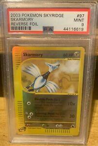 Skarmory Skyridge Reverse Holo 97/144 PSA 9 Mint POP 16 Pokemon 2003