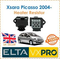 For Xsara Picasso N68 1.6HDi 2004- ELTA Interior Heater Blower Resistor New