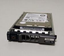"Dell 300GB 15K SAS 2.5"" Hard Drive NWH7V w/Tray Toshiba MK001GRRB 0NWH7V"