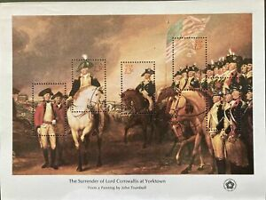 United States 4 SHEETS BICENTENNIAL 1976 AMERICAN REVOLUTION W/SLEEVE MNH