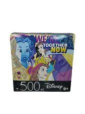 "Cardinal 500 Piece Jigsaw Puzzle Disney ""BEAUTY & THE BEAST""-11"" x 14""  Fun"