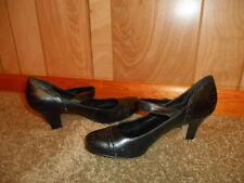 Dollhouse Strap Heels Shoes Pumps 7 M B BLACK New Without Box!